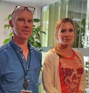 Göran Hellström och Marie Järsjö