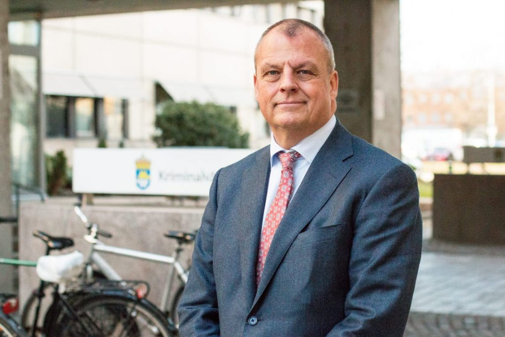 Martin Holmgren, generaldirektör Kriminalvården.